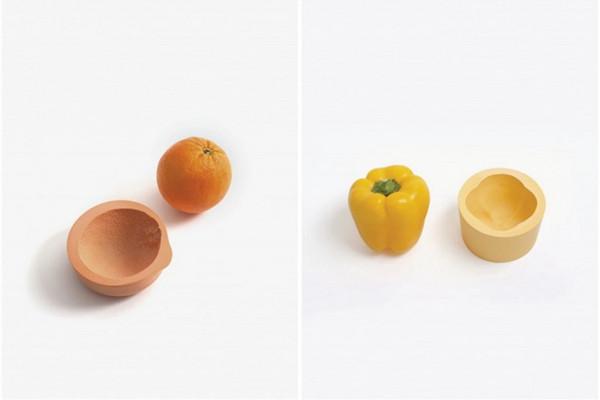 很可爱的蔬菜印记碗(四)