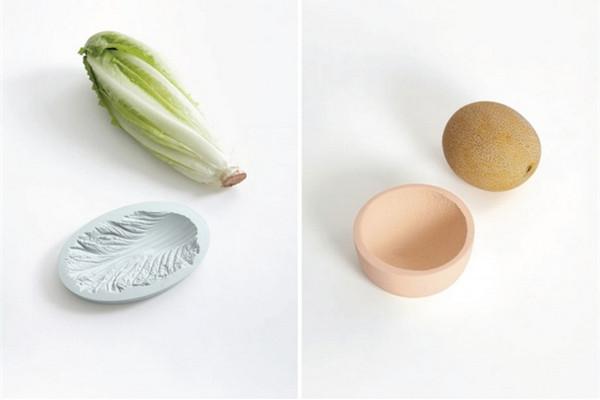 很可爱的蔬菜印记碗(五)