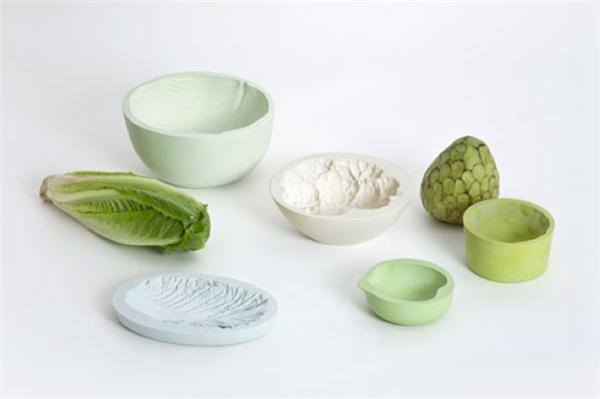 很可爱的蔬菜印记碗(六)