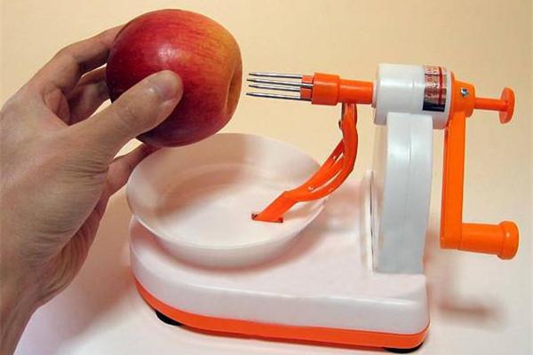 实用有趣的卷苹果机