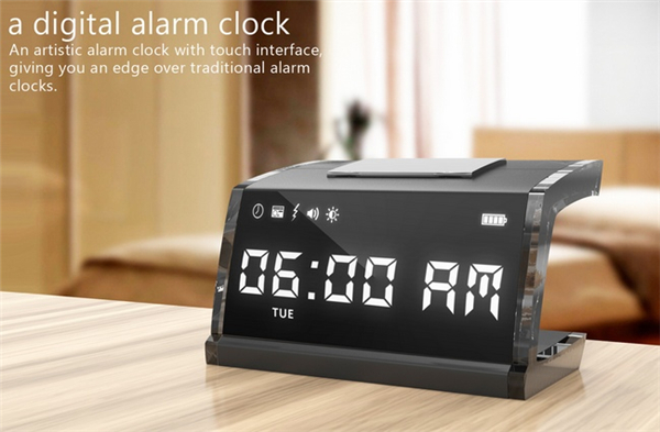 帮你起床的电击闹钟