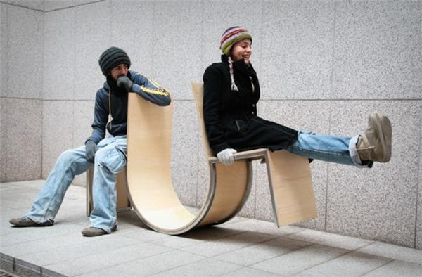 公共摇摆椅(二)