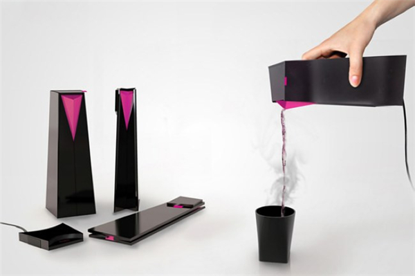 可折叠的电热水壶
