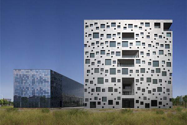 有意思的立方体办公楼