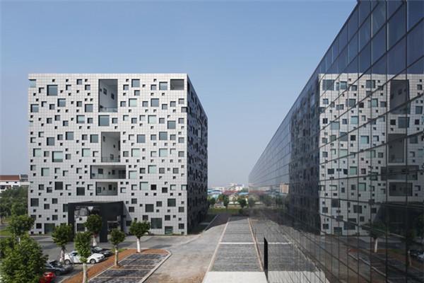 有意思的立方体办公楼(二)