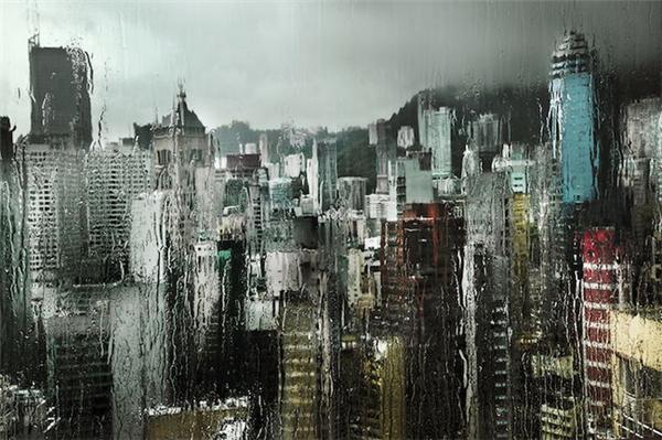 动人的雨中香港(五)