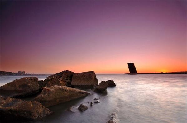 日出日落的迷人海景(五)