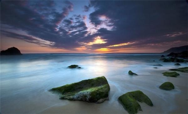 日出日落的迷人海景(八)