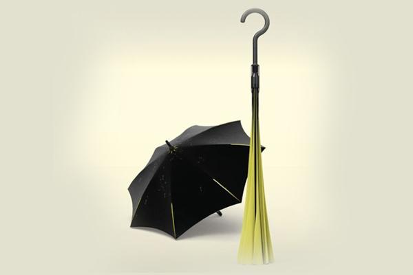 创新结构的翻转雨伞