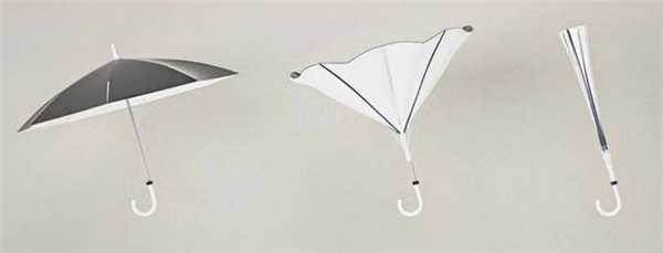 创新结构的翻转雨伞 反向伞图片