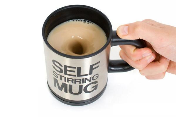 自动咖啡搅拌杯