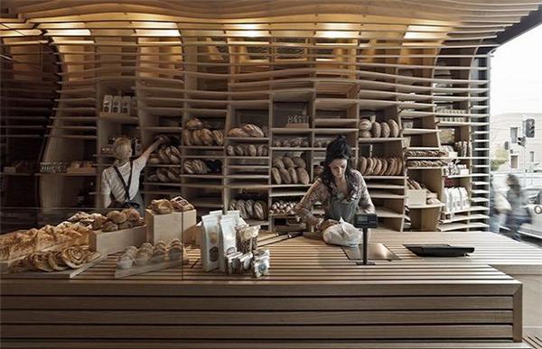 优雅自然的面包房