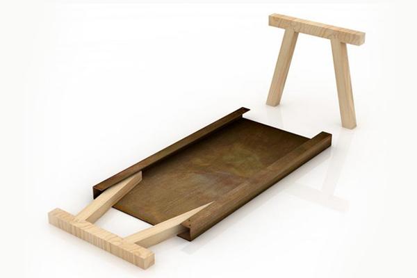 小型实用工作桌(二)