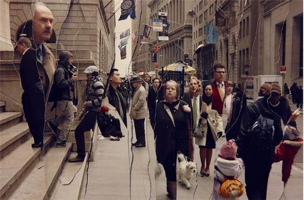 有趣的纽约街头时空剪辑