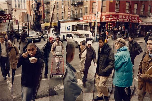 有趣的纽约街头时空剪辑(二)