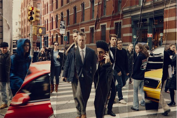 有趣的纽约街头时空剪辑(八)