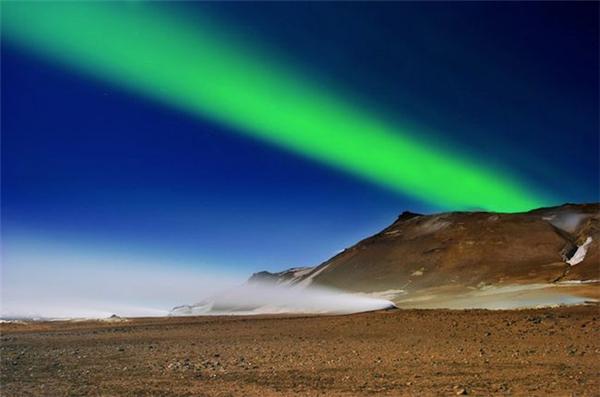 冰岛美丽的极光(二)