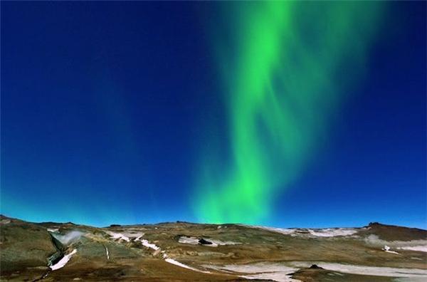 冰岛美丽的极光(三)