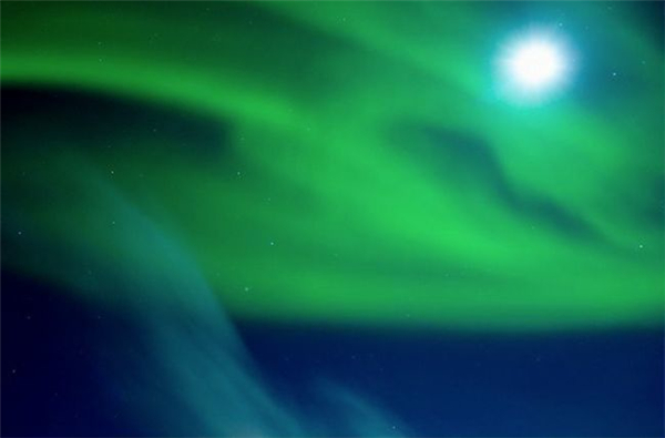冰岛美丽的极光(四)