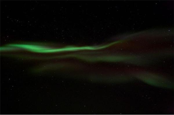 冰岛美丽的极光(五)