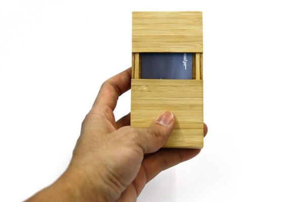 有意思的竹名片盒(二)