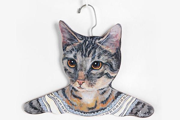 有趣的动物头像衣架(二)