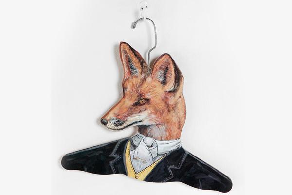 有趣的动物头像衣架(五)