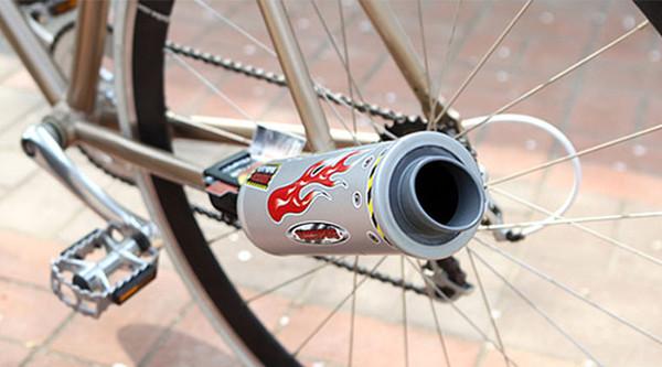 超酷自行车涡轮排气管(四)
