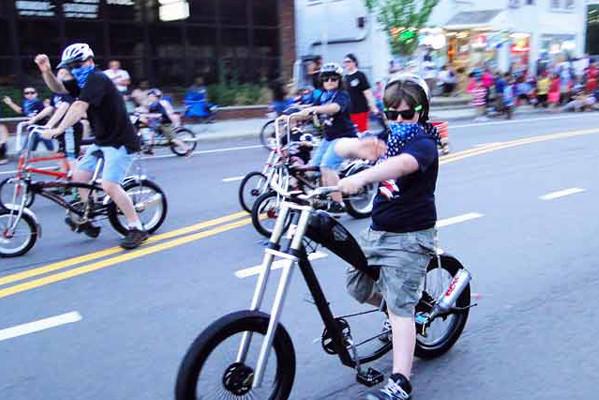 超酷自行车涡轮排气管(七)