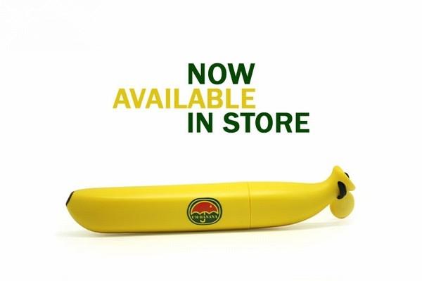 有趣的香蕉伞
