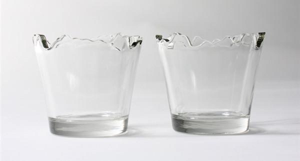 山水妖娆玻璃杯