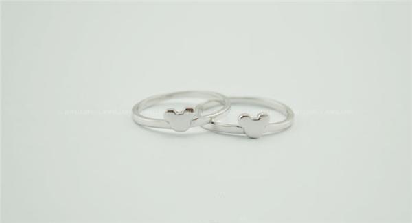 米奇纯银戒指(二)