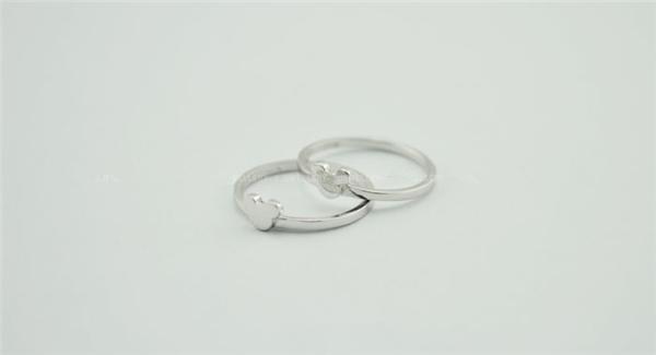 米奇纯银戒指(四)