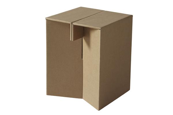 环保的纸质家具