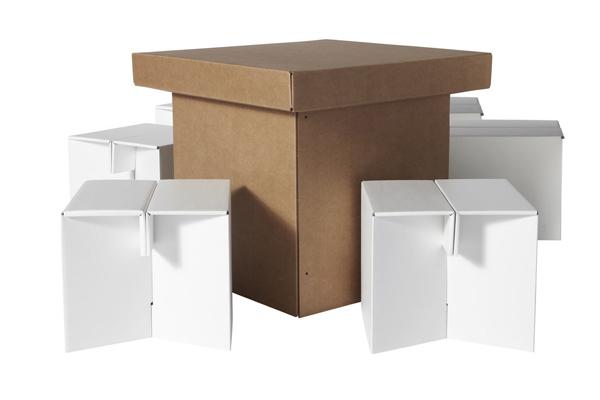 环保的纸质家具(三)