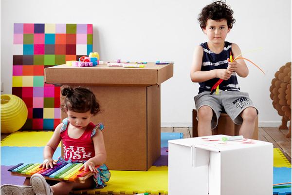 环保的纸质家具(五)
