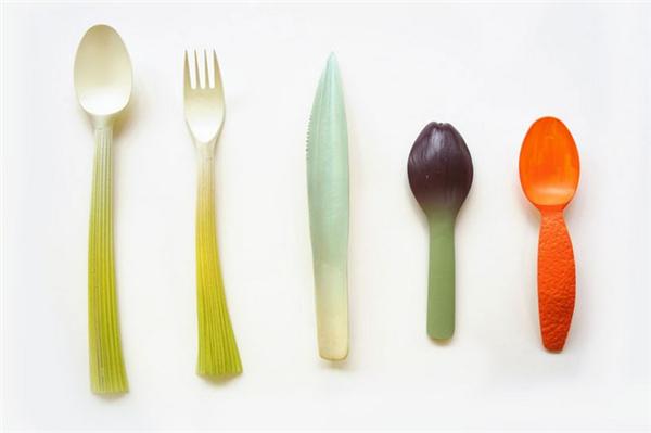 超萌的果蔬餐具(二)