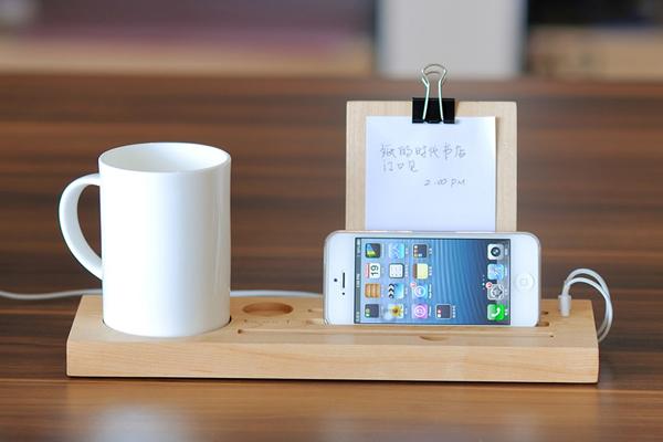 iPhone5 原木底座(二)