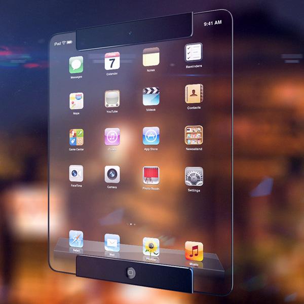 全透明概念iPad(二)