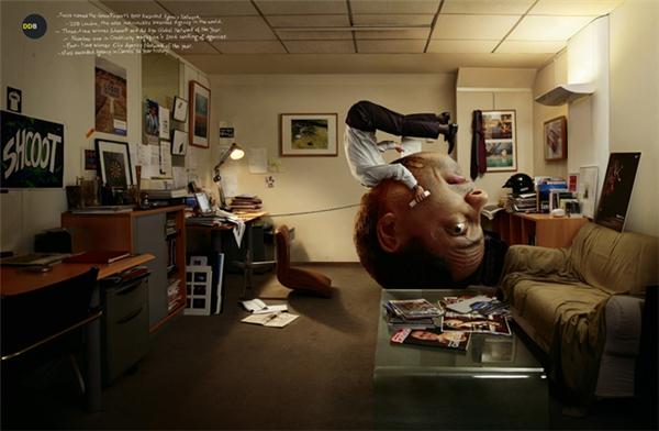 广告公司法国DDB的宣传广告