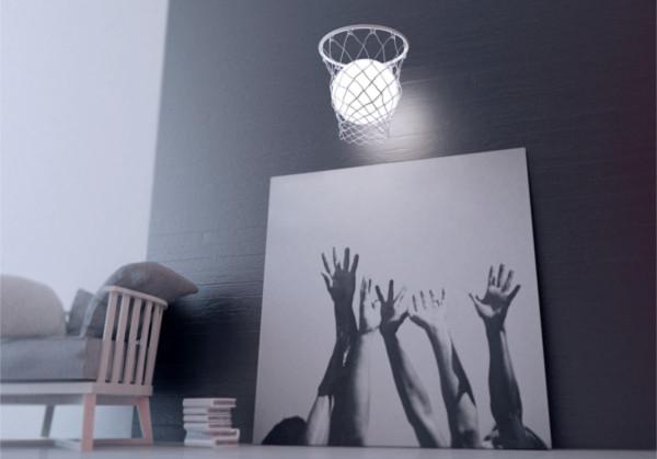 创意篮球灯具