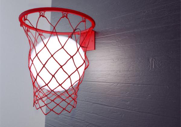 创意篮球灯具(二)