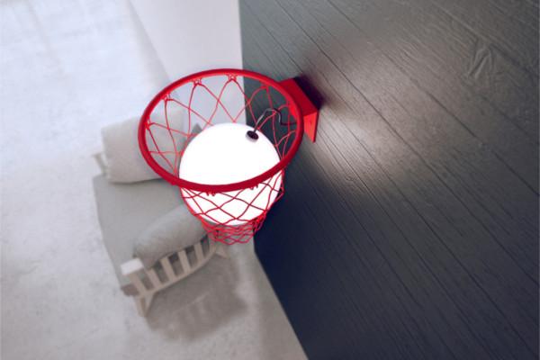 创意篮球灯具(四)