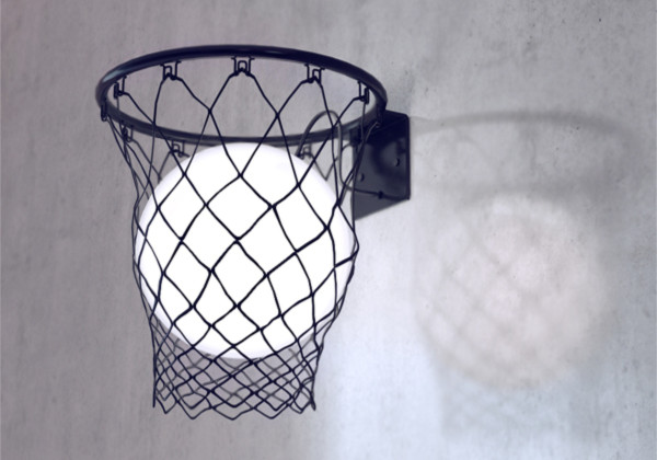 创意篮球灯具(六)