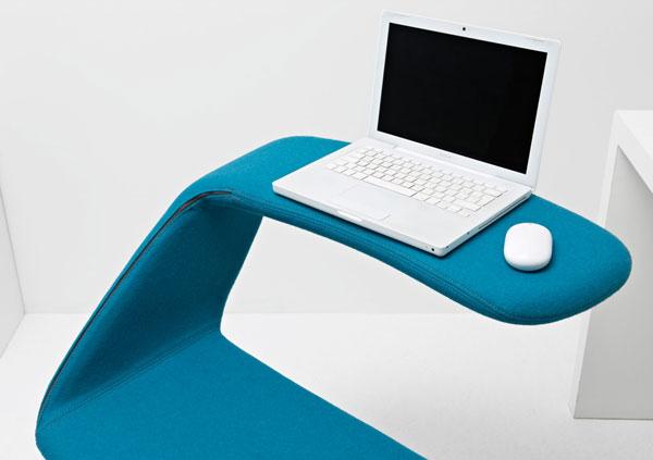 造型优雅的灵活电脑台(二)