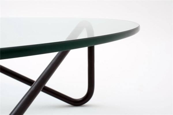 简约钢管玻璃桌(四)