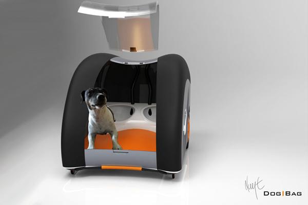 可移动式宠物行李箱(三)