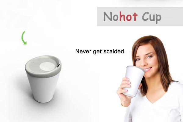 提醒水温温度的杯子(二)