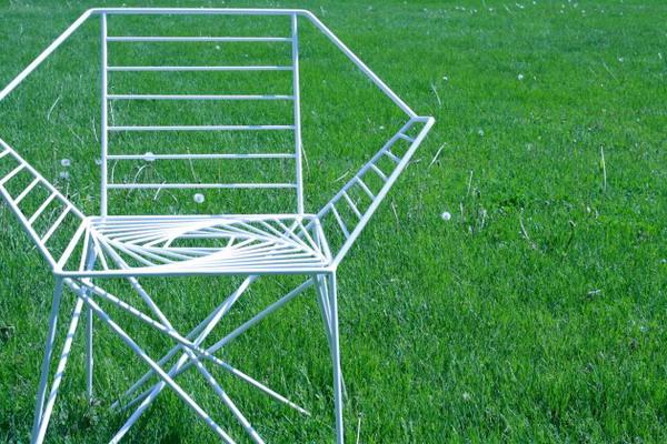 户外螺旋休闲椅