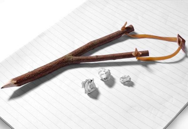 顽皮的弹弓笔